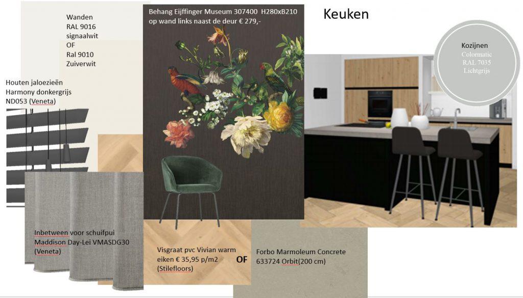 Moodboard keuken NoSiss Interieurstyling